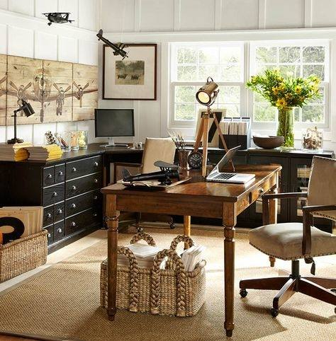 pottery barn office ideas pottery  barn home
