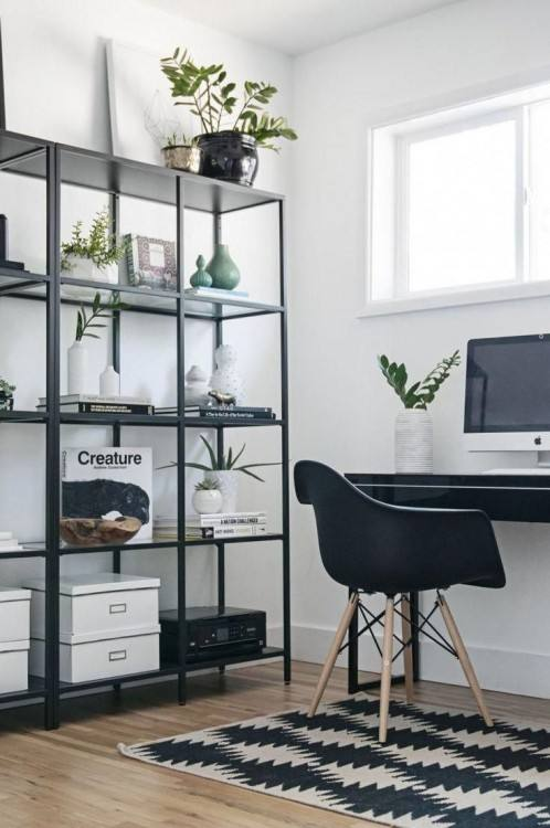 small office  shelving ideas